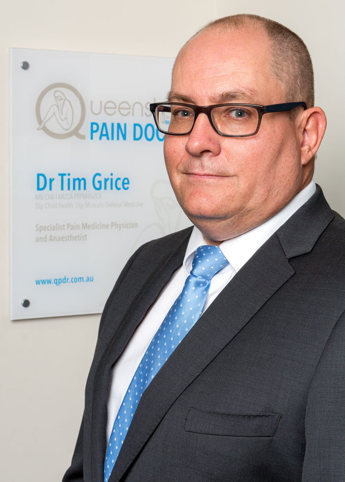 Dr Tim Grice, Queensland Pain Doctor